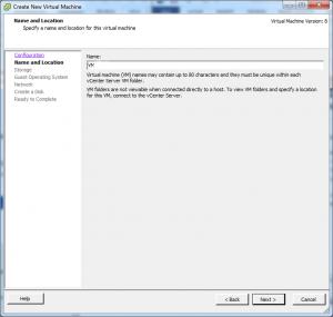 Membuat Virtual Machine dan Instalasi Guest OS Menggunakan vSphere Client2