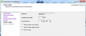 Membuat Virtual Machine dan Instalasi Guest OS Menggunakan vSphere Client6